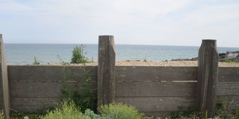 Beach view Lancing West Sussex