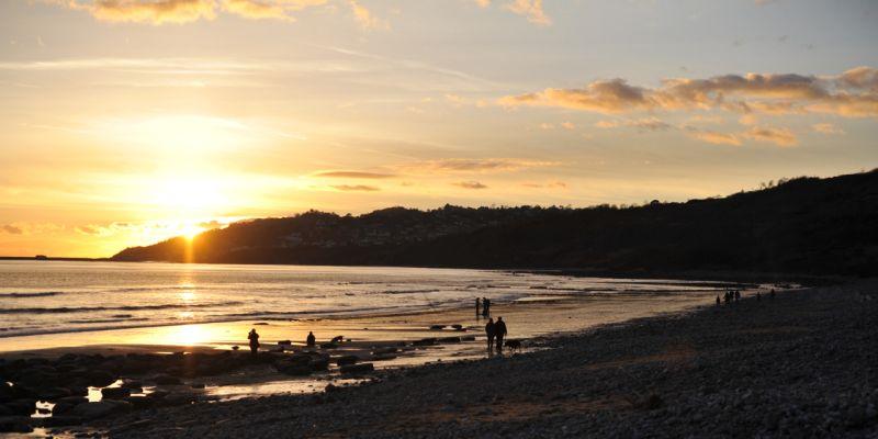 Charmouth West Beach Dorset
