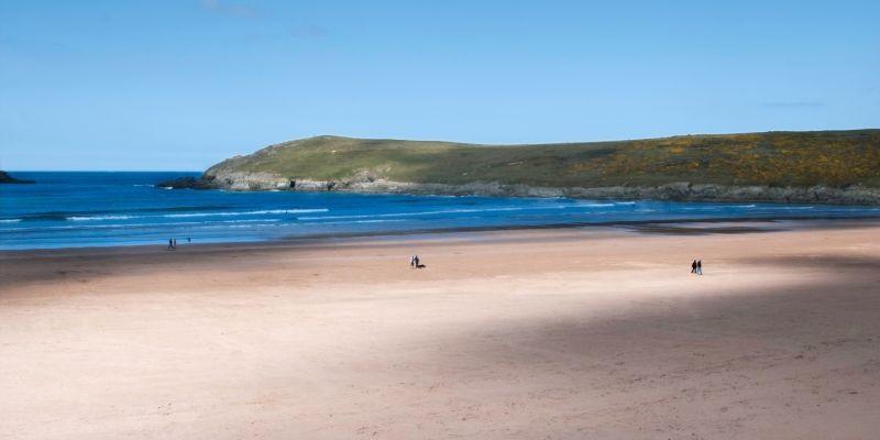 Crantock Beach North Cornwall Coast