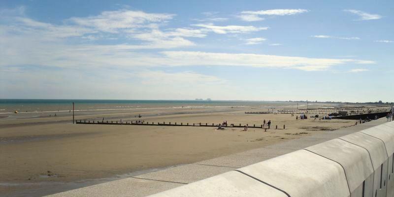 Dymchurch Beach Sea Wall