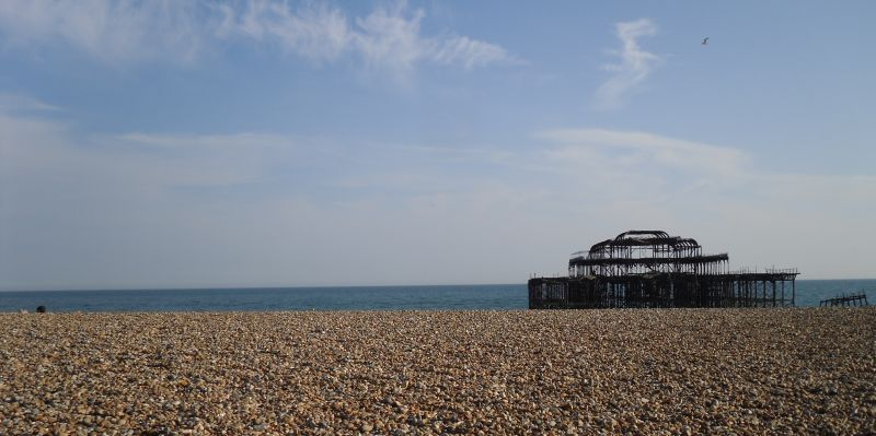 Brighton beach East Sussex