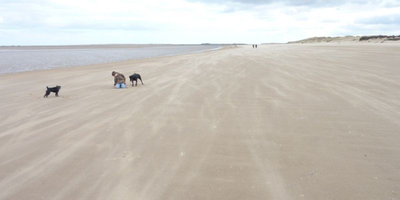 Holkham Beach Norfolk