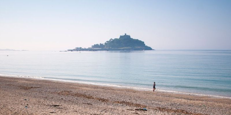 Marazion Beach Cornwall UK