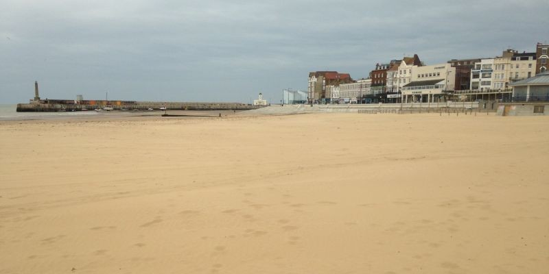 Margate Main Sands Beach Kent