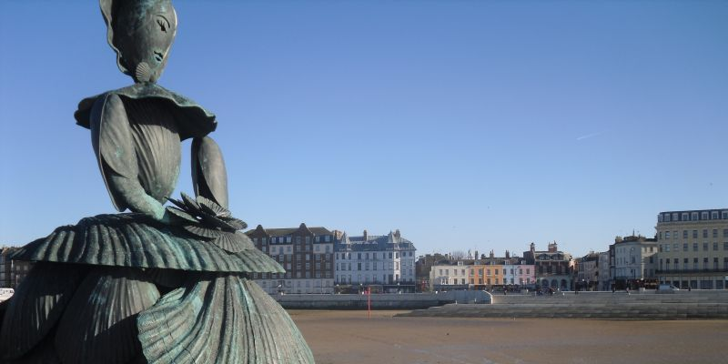 Margate - Shell Lady Sculpture