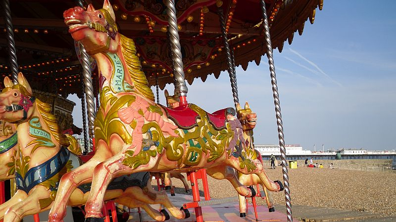 UK Seaside Funfairs and Attractions