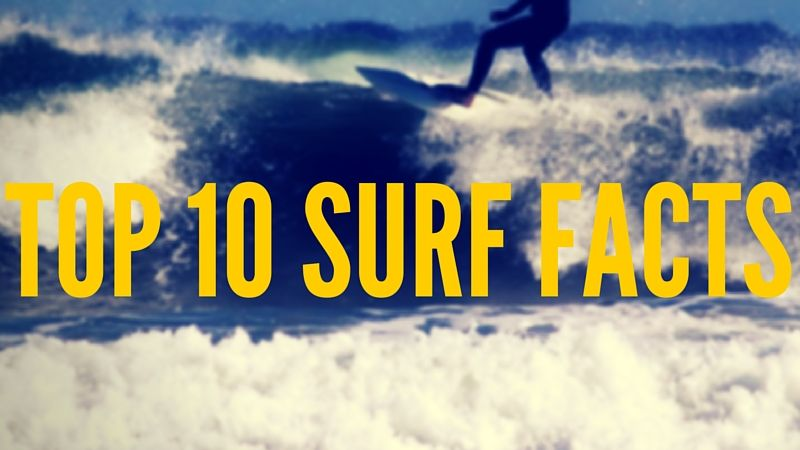 Top 10 UK Surfing Facts