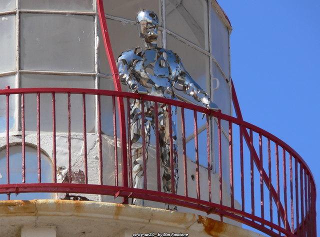 Talacre Lighthouse Statue