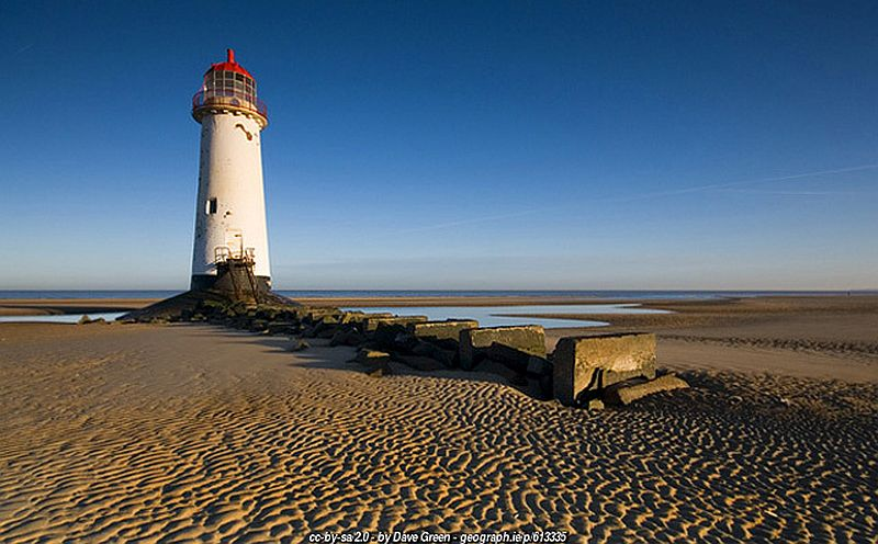 Talacre Lighthouse Wales Coast