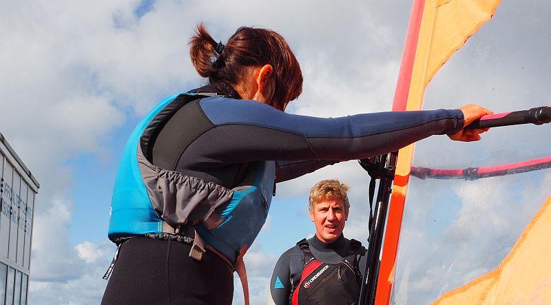 Windsurfing Dorset